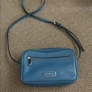 Marc by Marc Jacobs blue crossbody bag